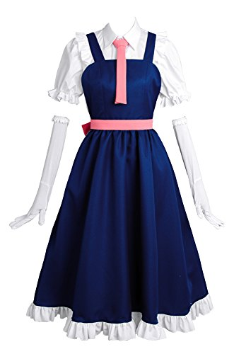 Miss Kobayashi 's Dragon Maid Toru Tohru Maid Uniform Maid - Disfraz de maid para niña, talla XS