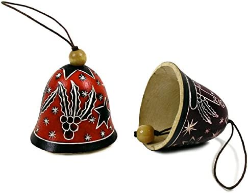 Sanyork Artisans Christmas Ornament Bell Three Set Columbus Mall C New products, world's highest quality popular! of Assorted