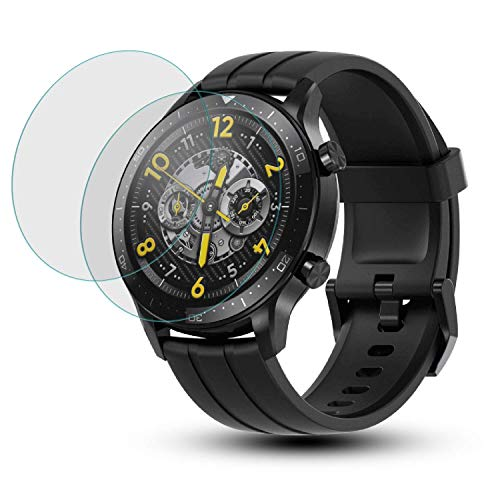 ogtech Screen Protector Compatible with Realme S Watch [9H Hardness Screen Guard Better Than Tempered Glass] (Pack of 2)