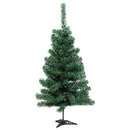 YuKeShop 60cm Christmas Tree Artificial Premium Green Spruce Xmas Tree with Stand, Artificial Mini Christmas for Christmas New Years Decoration