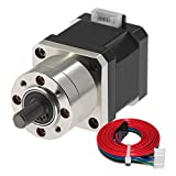 Usongshine Nema 17 Geared Stepper Motor Gear Ratio 5.18:1 Planetary Gearbox for 3 D Printer DIY CNC...