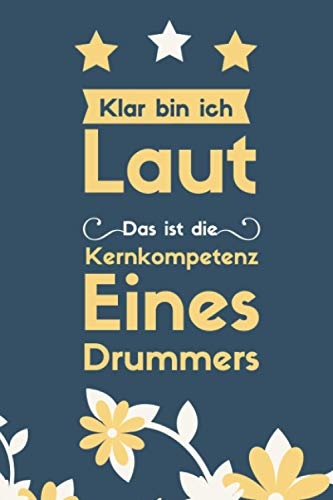 Lustiges Geschenk für Schlagzeuger,Notizbuch für Schlagzeuger.Perfekt zum geburtstag geschenk für Schlagzeuger,Tagebuch für Schlagzeuger,Geschenke ... Schlagzeuger,Schlagzeugerin drummer geschenk