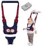 Baby Walker,Baby Walking Harness, Walking Learning Helper with 1 Pair Knee Pads, Adjustable Infant Walker Helper Assistant Suitable for 7 to 24 Months Babies