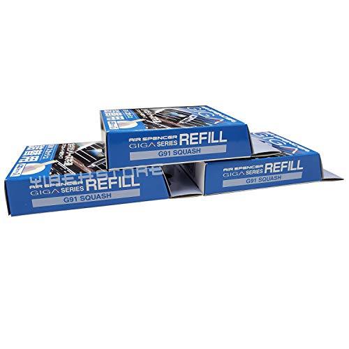 Air Spencer Giga, Giga Clip Stick Refill 3-Box Squash Scent, Design for GIGA Clip, Clipia, Clipia II, Bijou, Cross, LuxDry, Rijoure Refill