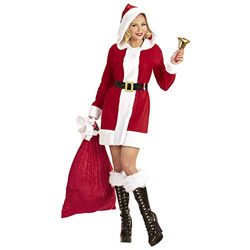 WIDMANN S.R.L. Costume Mamma Natale Sexy Merry Christmas