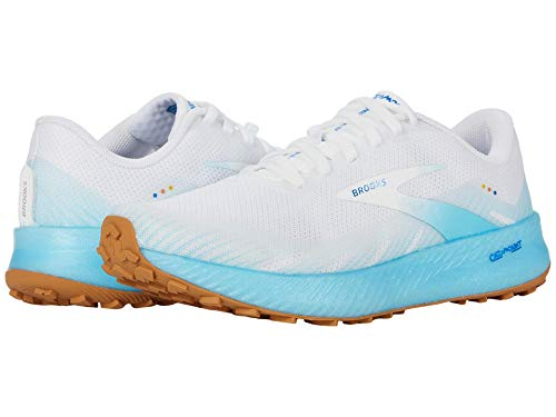 Brooks Catamount White/Iced Aqua/Blue 10.5 B (M)