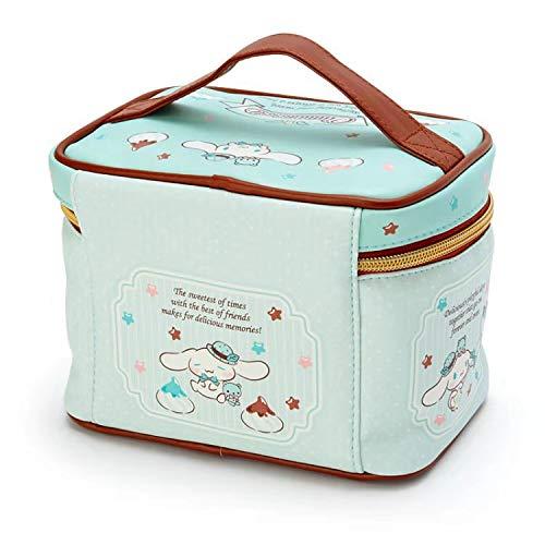 Cute Cartoon Cinnamoroll Chocolate Blue Maquillaje Bolsa de Cuero de PU Caja de cosméticos Organizador de Viaje Estuche de Belleza Almacenamiento Bolsas de Aseo b 18 * 12 * 13cm