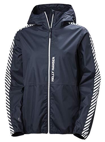 Helly Hansen Vector Packable Jacke Chaqueta, Mujer, Azul (Navy), M