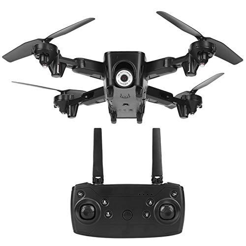 Shipenophy Transmisión en tiempo real Drone RC plegable Quadcopter principiantes y niños regalo (flujo óptico 4K HD)
