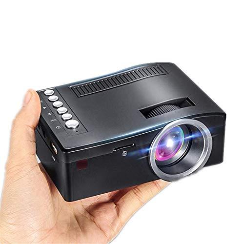 GonFan draagbare mini-full-HD-thuisbioscoop-led-multimedia-projector bioscoop USB TV HDMI TF 1080P videospeler - HD-projector