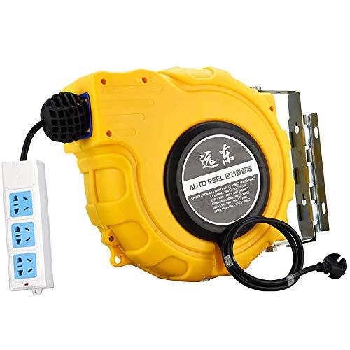 HYLH Enrollador de Manguera automático eléctrico Industrial, zócalo de Bandeja de Alambre...