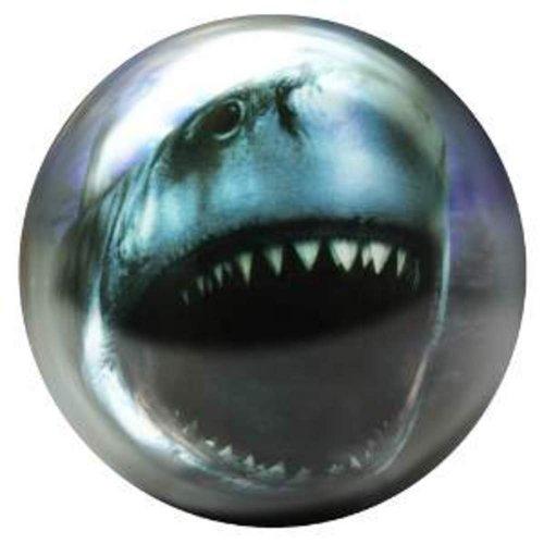 Brunswick 12 lbs, Bowling Ball Viz-a-Ball Shark