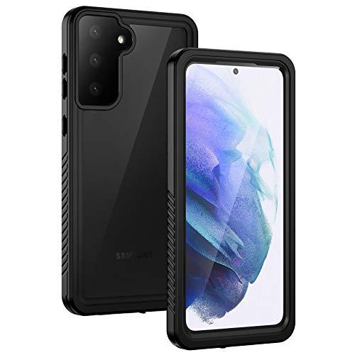 Lanhiem Samsung Galaxy S21 5G Case, IP68 Waterproof Dustproof Case with...