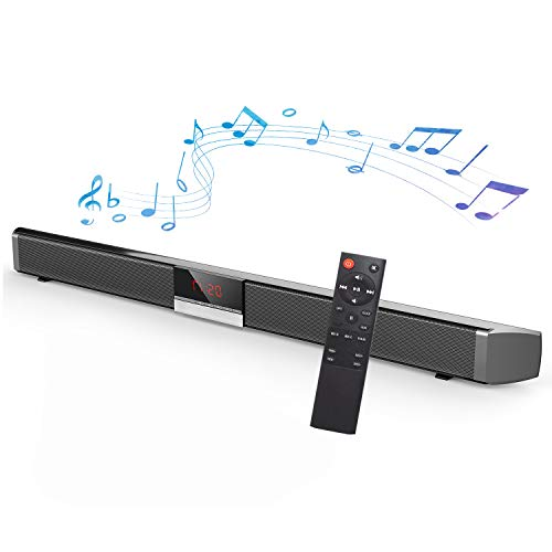 Soundbar for TV - Bluetooth Sound Bar, Channel Home Theater with Subwoofer,...