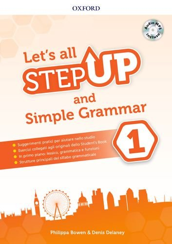 Step up: let's all. Per la Scuola media. Con espansione online [Lingua inglese]: 1
