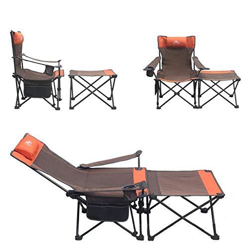 GJG Camping Stuhl, Stuhlhocker Multifunktional, Tragbarer Ultraleichter Liegestuhl Für Rucksacktouren, Wanderungen, Picknicks, Angeln, Parken Usw. (Halten Sie Bis Zu 150 Kg),2