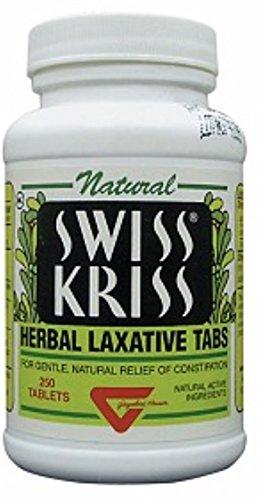 Swiss Kriss Herbal Laxative, Tablet…