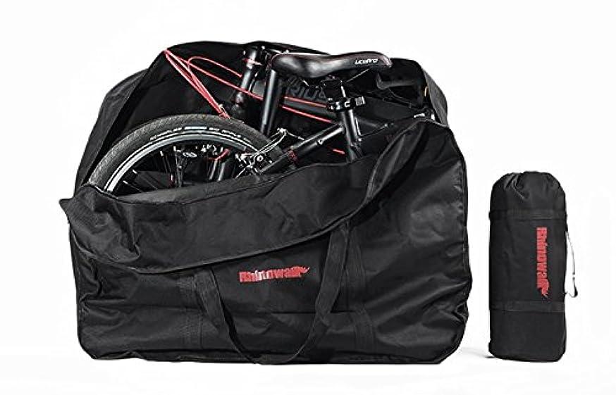 またはどちらか好ましいラッシュRhinowalk 折りたたみ自転車 収納 バッグ 14?20インチ対応 専用ケース付き 輪行バッグ 輪行袋 サイクリング ツーリング 持ち運び 便利