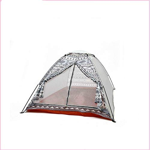 Camping Tent Tent superlight Single Layer Water Resistance PU1000mm-1500mm with Carry Bag for Hiking 51.0KG 2 Person Water-Resistant Ventilated and Durable
