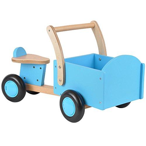 Vierrad mit Transportbox - ab 1 Jahre Blau