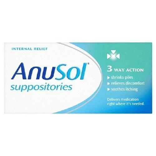 Anusol Suppositories 12 per pack by Anusol