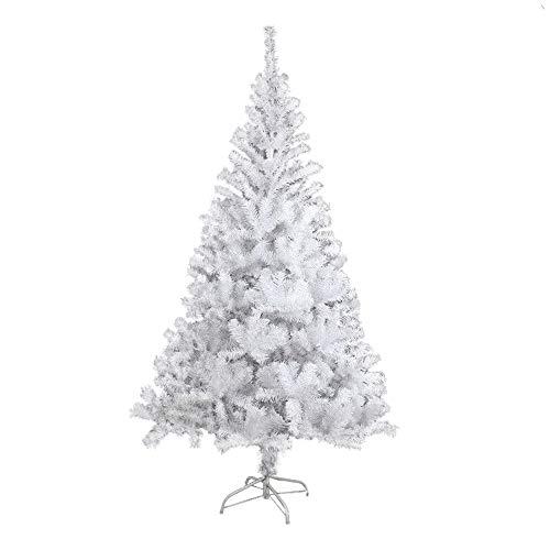 COOSNUG Árbol de Navidad de 210 cm,Blanco Árbol Artificial con 960 Puntas, ignífugo, Abeto, construcción...