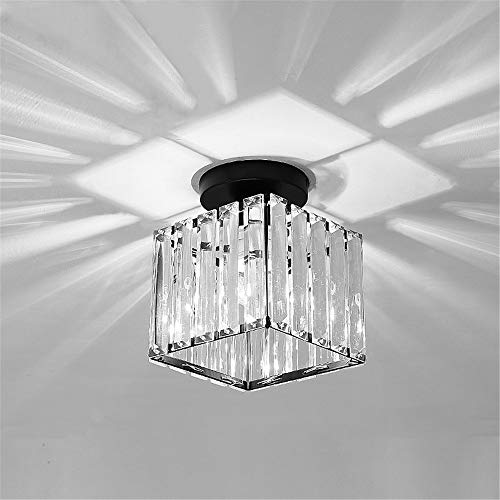 Artpad Lámpara de techo de jaula cuadrada con atenuador de luz de...