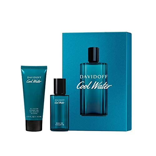 Davidoff Cool Water Duftset 40 ml EdT Spray + 75 ml Duschgel (1er Pack)
