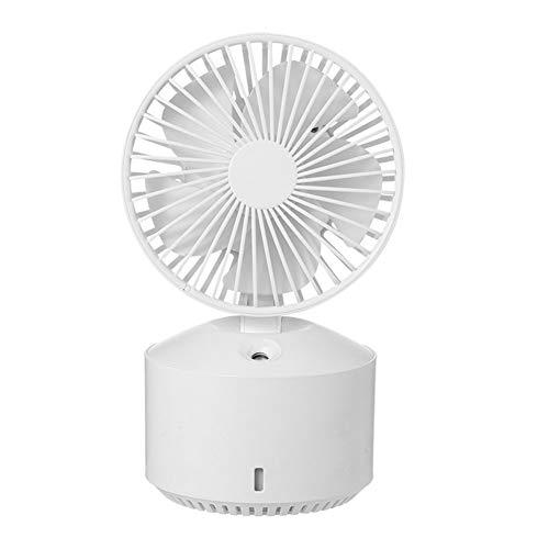 Portable USB desktop fan, met nano-verstoven, rustig koeltoren ventilator, electrische stille ventilator voor reizen buiten in huis slaapkamer kantoor