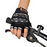 Cebbay Gants Cyclisme avec Gel Rembourré Doigt Complet - Gants Sport Respirant Souple Anti-Choc à Écran Tactile pour Vélo,...