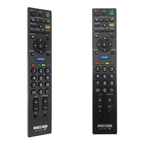 FOXRMT Mando RM-ED011 para Mando Sony RM-ED011 para Mando Sony Bravia LCD LED TV