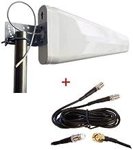D-Link DWR-923 DWR-921 DWR-922 4G LTE Router módem Externo Log periódico Yagi Antena de Mayor Ganancia