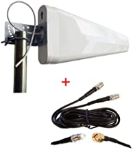 maxmostcom MOFI MOFI4500 Cellular 4G LTE Router mofi 4500 External Wide Band Log Periodic Yagi Antenna