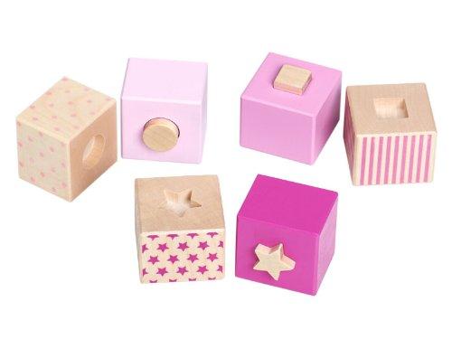 Selecta Spielzeug - 21447 - Forme À Trier Et À Empiler - Sternchen Steck - Rose