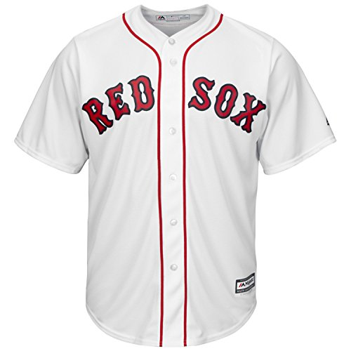 Majestic Athletic Boston Red Sox Home White Cool Base Men's Jersey (Medium)