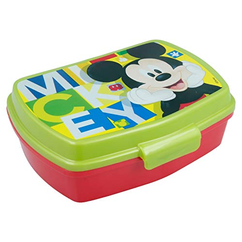 Stor SANDWICHERA Funny Mickey Mouse - Disney - Watercolors