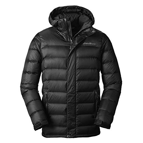 Eddie Bauer Men's CirrusLite Down Parka, Black Regular XL