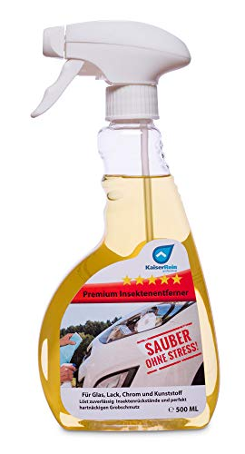 KaiserRein Insektenlöser Auto, Konzentrat, Glas, Lack, PKW, Gel, Motorrad Insektenentferner Lack