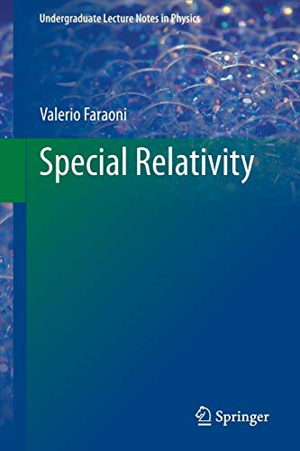 Special Relativity (Undergraduate Lecture Notes in Physics)