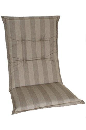 Casa Mina Polsterauflage Mittellehnerauflage 110x50cm Sand, Dessin 1600