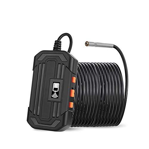 3.9MM WiFi Endoscopio industriale 1080P HD Impermeabile 6 luci a LED regolabili Riparazione auto Riparazione auto Telecamera serpente,10m