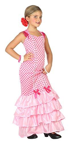 Atosa-39391 Disfraz Flamenca, Color Rosa, 5 A 6 Años (39391)