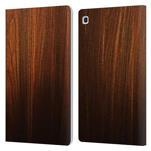 Head Case Designs Ufficiale Nicklas Gustafsson Legno Textures Cover in Pelle a Portafoglio Compatibile con Samsung Galaxy Tab S5e