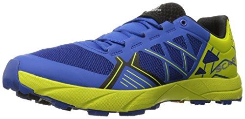 SCARPA Men's Spin Trail Running Shoe Runner, Turkish Sea/Spring Green, 43 EU/10 M US