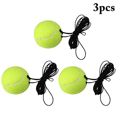 Buy FunPa Tennis Training Ball Self Study Exercise Tennis Ball Tennis Trainer with Rope