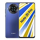 CUBOT Note 20 Pro Teléfono móvil, 6,5 Pulgadas HD+ Pantalla, 6 GB RAM + 128 GB ROM, Octa-Core Procesador Helio P60, Android 10.0, 4200 mAh, Cuatro Cámara, Dual SIM, NFC, Face ID, Azul