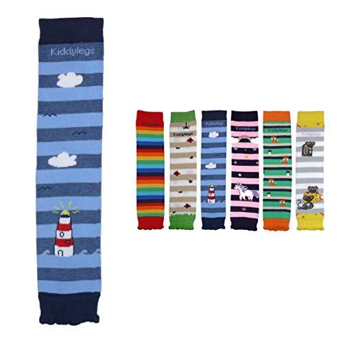 Kiddylegs® Baby- und Kinderstulpen Standard aus Bio-Baumwolle kbA (Leuchtturm)