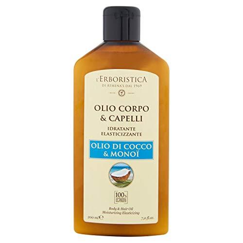 L'Erboristica Olio di Cocco per Corpo e Capelli, 200ml