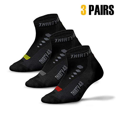 Thirty48 Low Cut Cycling Socks for Men and Women