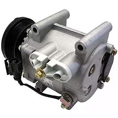 Compressor airconditioning 9145374927834 EcommerceParts voor fabrikant: Qualy, compressor-ID: SCROLL, riemschijf Ø: 97 mm, aantal vleugels: 6, spanning: 12 V #ee